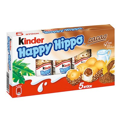 Kinder Happy Hippo Cacao 103g