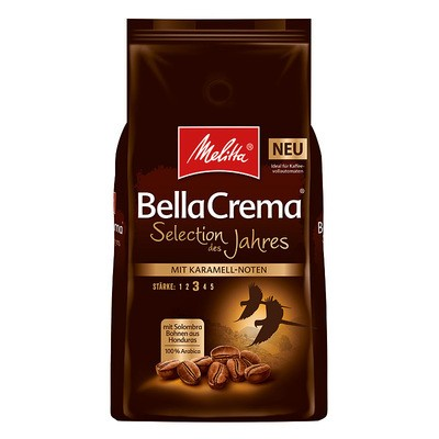 Melitta Bella Crema Selection des Jahres ganze Bohne 1kg