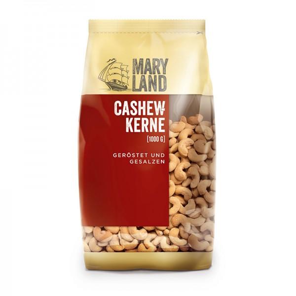MARYLAND Cashewkerne geröstet und gesalzen 1kg