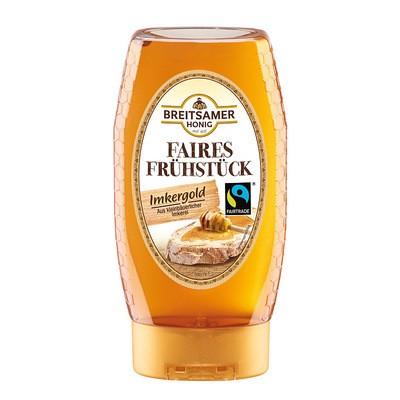 Breitsamer Honig Imkergold Faires Frühstück 350g