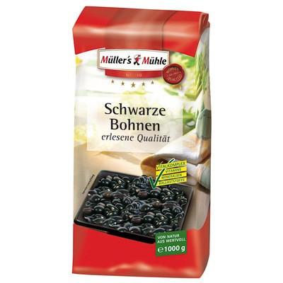 Müller's Mühle Schwarze Bohnen 1kg