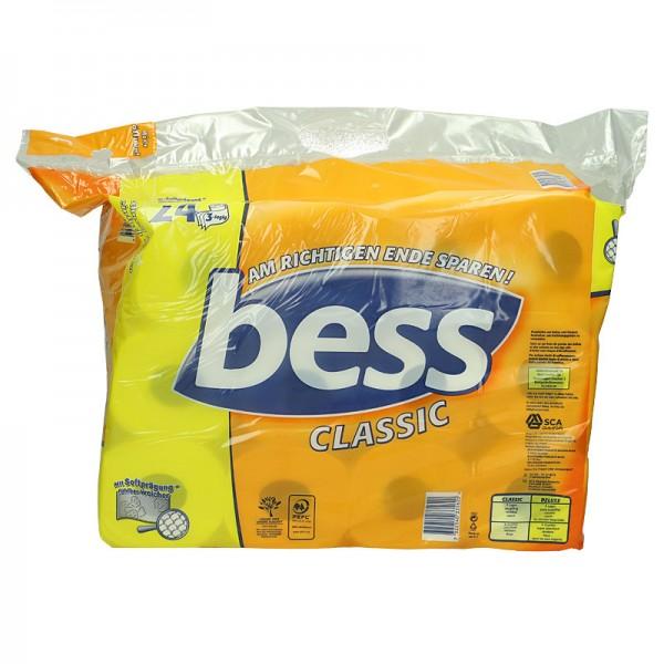 Bess Toilettenpapier Classic 3-lagig XL 24x150 Blatt