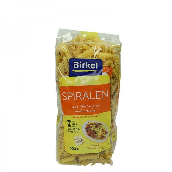 Birkel Spiralen Nudeln aus Hartweizen und Frischei 500g