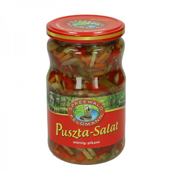 Spreewald Feldmann Puszta-Salat 670g