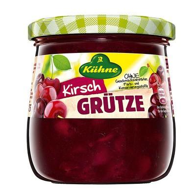 Kühne Rote Grütze Sauerkirschen 390ml