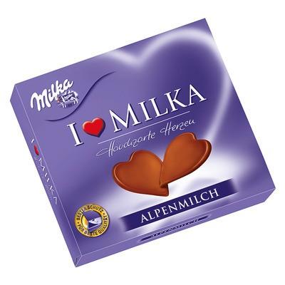 Milka I love Milka Hauchzarte Herzen 130g