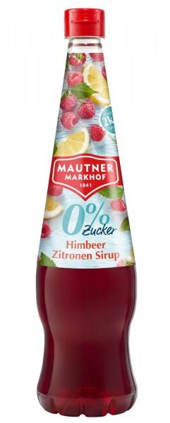 Mautner Markhof Himbeer Zitronen Sirup mit 0% Zucker Zusatz