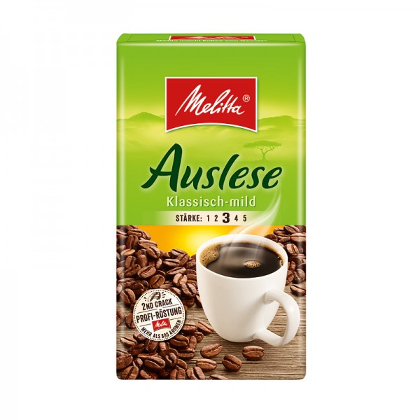 Melitta Café Auslese klassisch mild gemahlen 500g