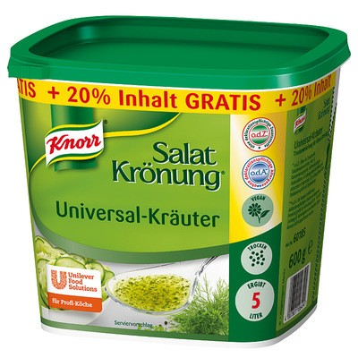 Knorr Salatkrönung Universal-Kräuter 600g