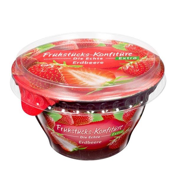 Zentis Frühstücks-Konfitüre Extra Erdbeere 200g