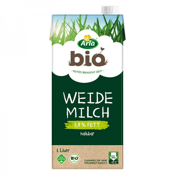 Arla Bio H-Weidemilch 3,8% 1L