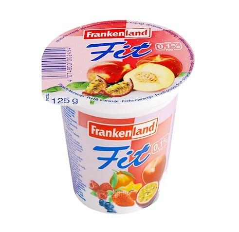 FrankenLand Top Joghurt Pfirsich-Maracuja 125g