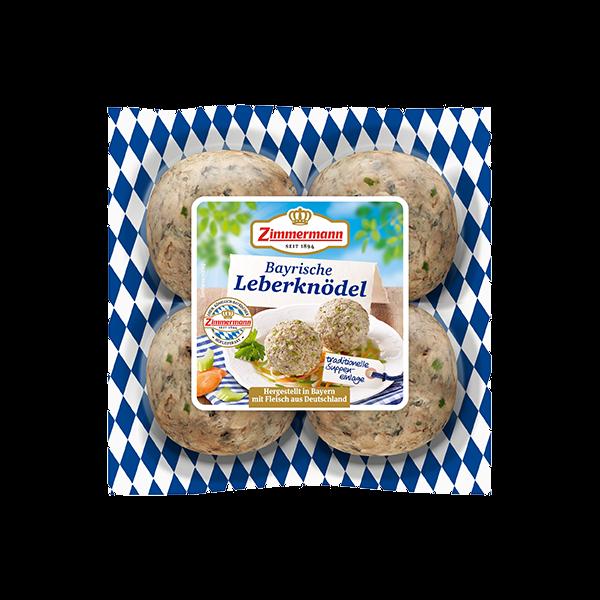 Zimmermann Bayerische Leberknödel 4x75g