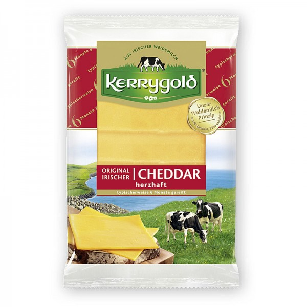 Kerrygold Original Irischer Cheddar Scheiben herzhaft 150g