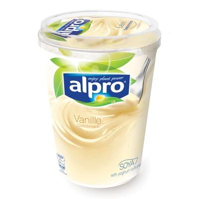 Alpro Soja Joghurtalternative Vanille 500g