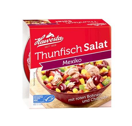 Hawesta Thunfisch Salat Mexiko, MSC-zertifiziert 160g
