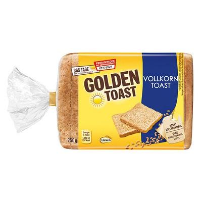 Golden Toast Vollkorntoast 250g