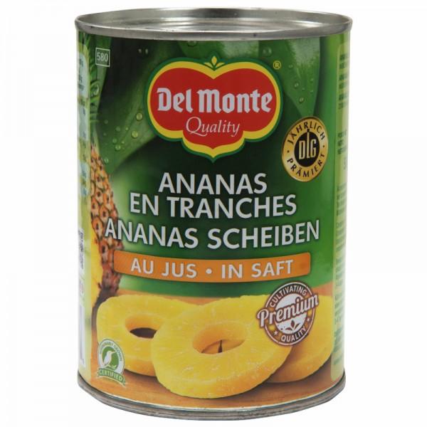 Del Monte Ananasscheiben 580ml