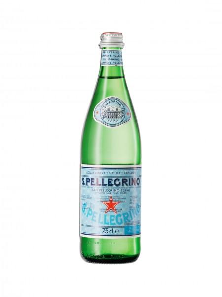 San Pellegrino Mineralwasser Einzelflasche 0,75L