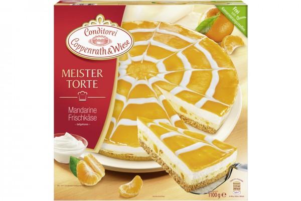 Coppenrath & Wiese Meister Torte Mandarine Frischkäse 1100g