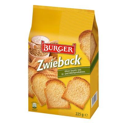 Burger Zwieback 225g