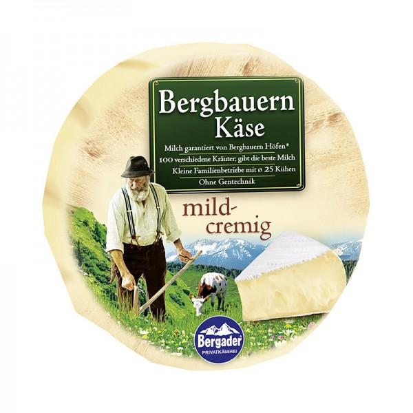 Bergader Bergbauern Minilaib 51% Fett i. Tr 300g