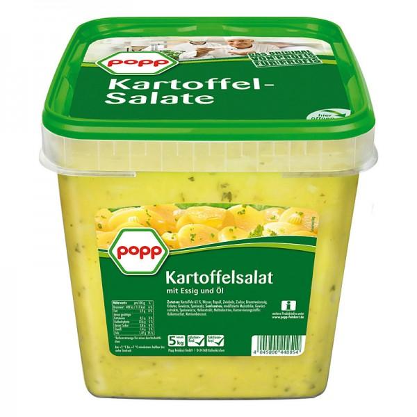 Popp Kartoffelsalat mit Essig und Öl XXL 5kg