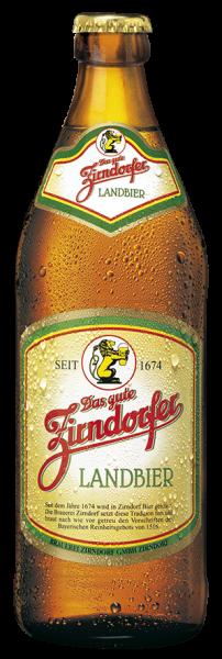 Zirndorfer Landbier Helles Bier als Einzelflasche 0,5l