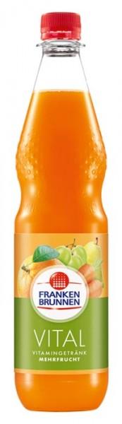 Franken Brunnen Vital Mehrfrucht Einzelflasche 0,75L PET