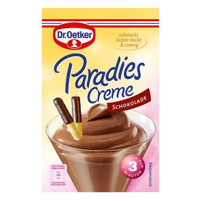 Dr. Oetker Paradiescreme Schokolade 74g