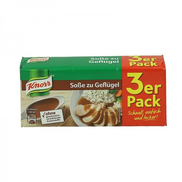 Knorr Soße zu Geflügel für 750ml