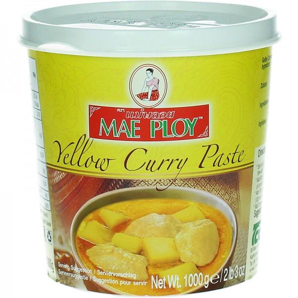 Gelbe Curry-Paste Mae Ploy 400g