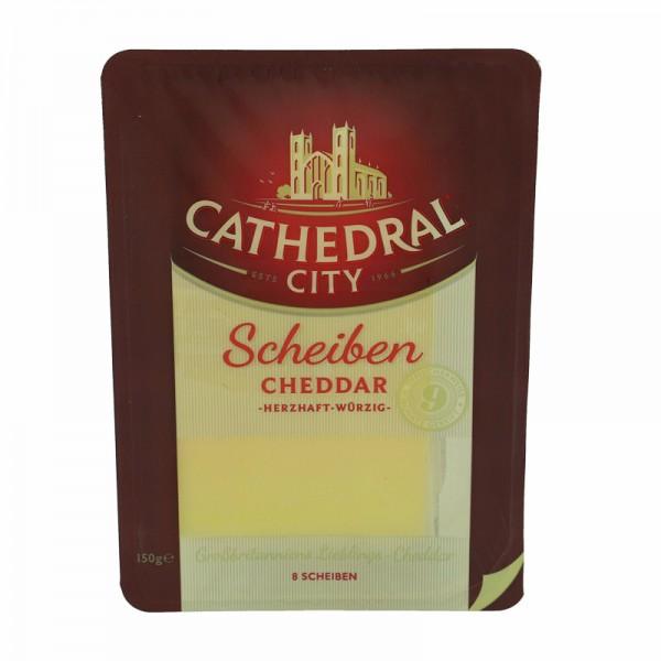 Cathedral City Scheiben Cheddar 150g