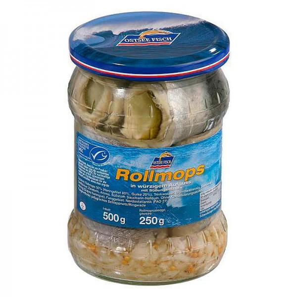 Ostsee Fisch Rollmops 500g