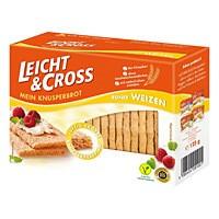 Knusperbrot Leicht & Cross Weizen 125g