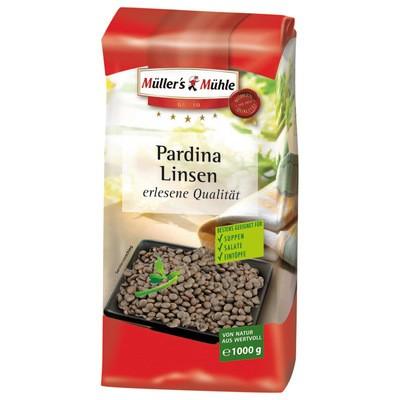 Müller's Mühle Pardina Linsen 1kg