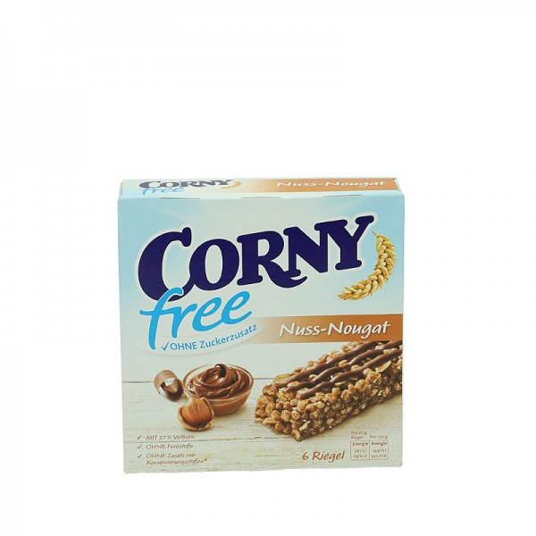 Corny Nuss-Nougat Riegel 6St
