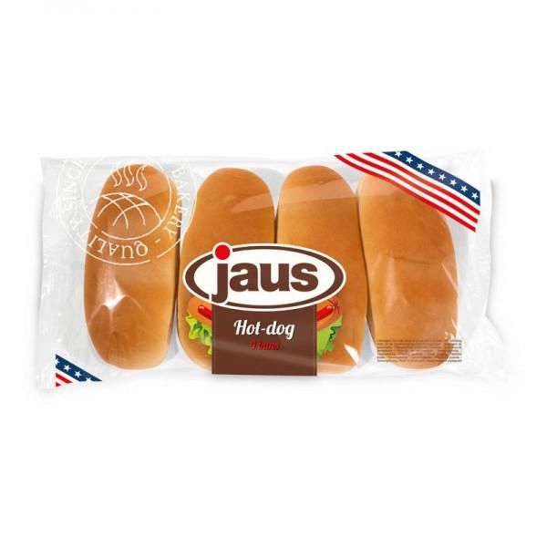Jaus Hot Dog 4er, 250g Packung