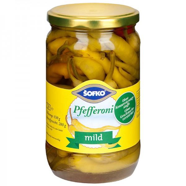 Sofko Pfefferoni mild 720ml