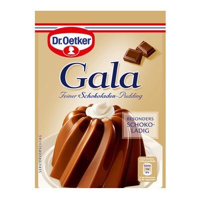 Dr. Oetker Gala Feiner Schokoladen-Pudding 3St