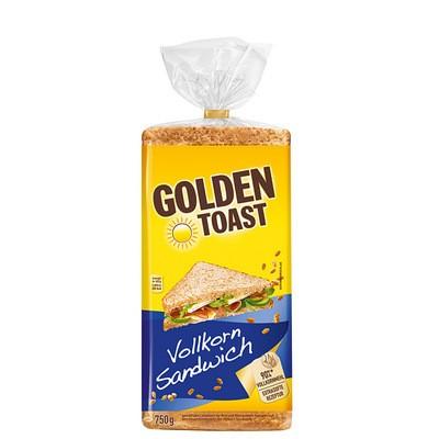 Golden Toast Vollkorn-Sandwich 750g