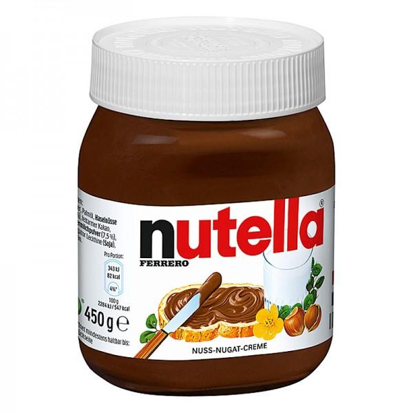 Ferrero Nutella Nuss-Nugat-Creme 450g