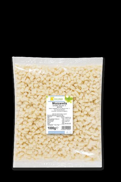 Mozzarella gewürfelt 40% 1kg