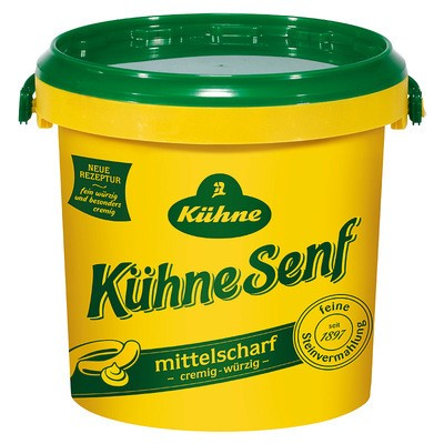 Kühne Senf mittelscharf 1kg
