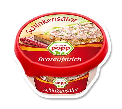 Popp Brotaufstrich Schinkensalat 150g