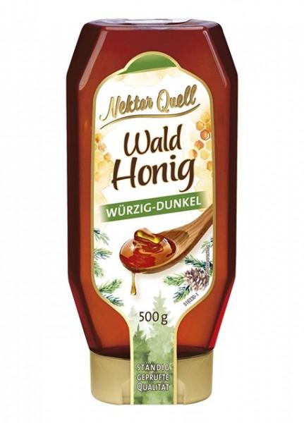 Nektar Quell Wald Honig Würzig-Dunkel 500g
