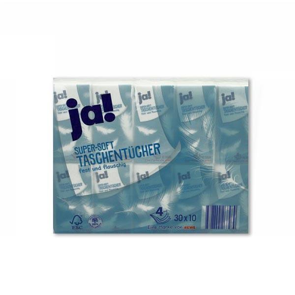 Taschentücher 4-lagig 30x10 St