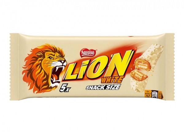 Nestlé Lion White 5 Riegel á 30g