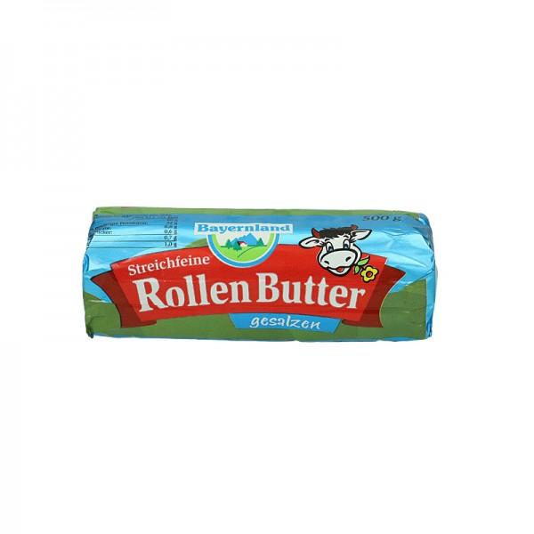 Bayernland Rollen Butter gesalzen XL 500g