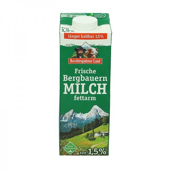 Berchtesgadener Frische Milch, 1,5%, länger haltbar